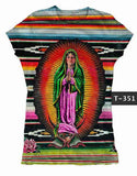 Virgencita de Guadalupe Graphic Tee Shirt - Cielito Lindo Mexican Boutique