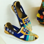 Shoes 5 Ocean Huichol Beaded Sandals