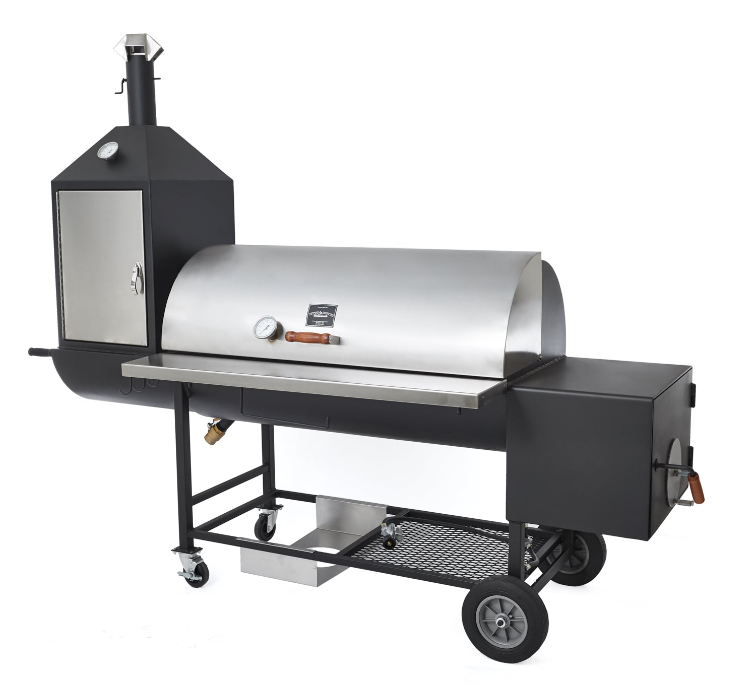 Ultimate Upright Smoker Pit