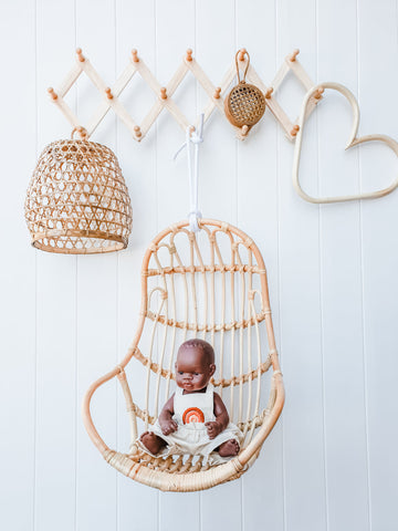 Dolly Rattan Hanging Chair