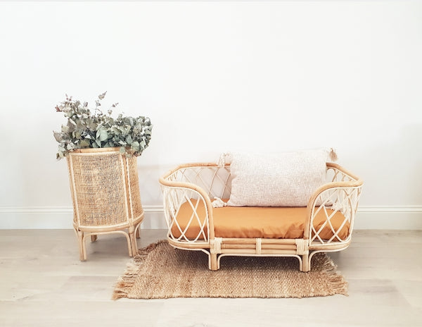 Bella Rattan Dog Bed OCTOBER DELIVERY