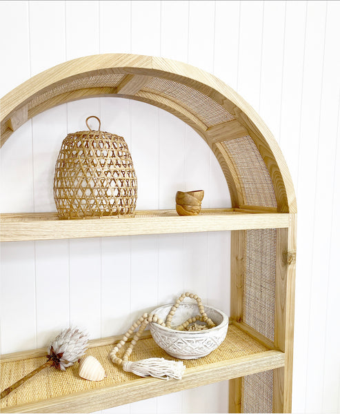 Hannah Rattan and timber shelves MARCH DELIVERY