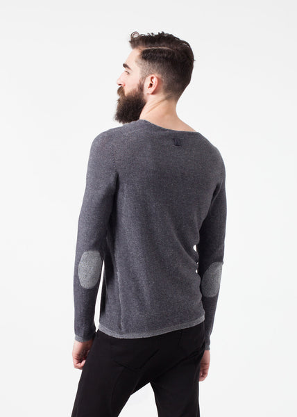 Curios Sweatshirt in Steel Grey - Demo