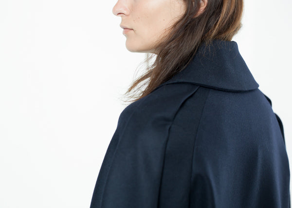 Wool Cocoon Jacket