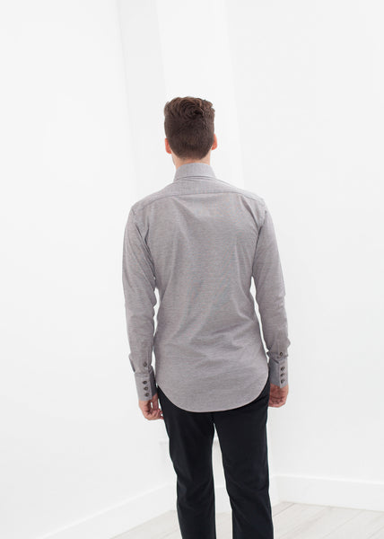 Amand Shirt in Brown - Demo