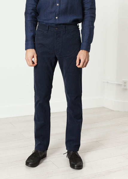 Alex Twill Pant in Navy - Demo