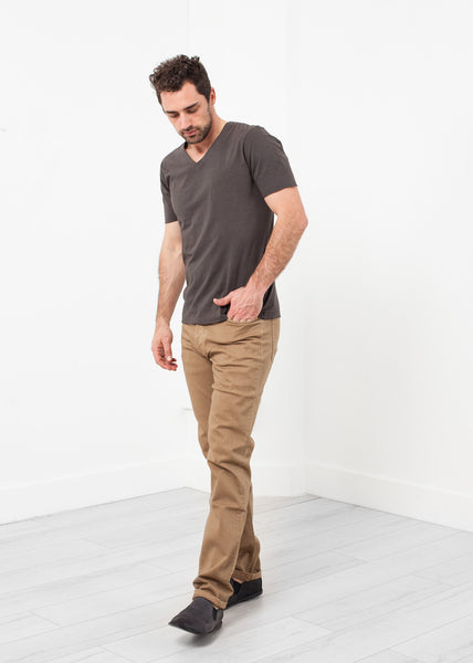 Alex Twill Pant in Sand - Demo
