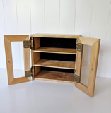 Desktop Apothecary Cabinet - Maple