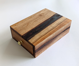 Tarot Deck Catalog Box - Soft Maple and Resin
