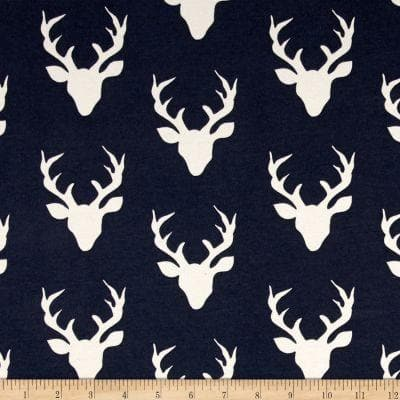 Twin, Full, or Queen Comforter - Navy Buck