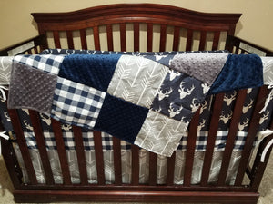 deer crib bedding