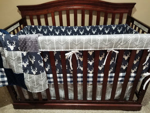 rustic crib bedding