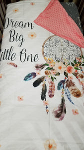 Girl Crib Bedding - Dream Catchers