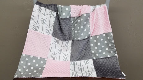 Ready to Ship - 32x42 Patchwork Blanket