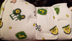 On the Go Changing Pad- John Deere tractors and animals