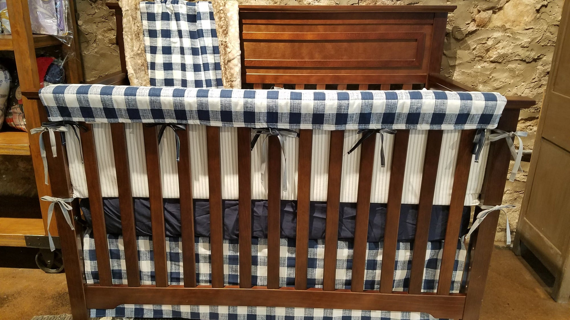 rustic farmhouse crib bedding