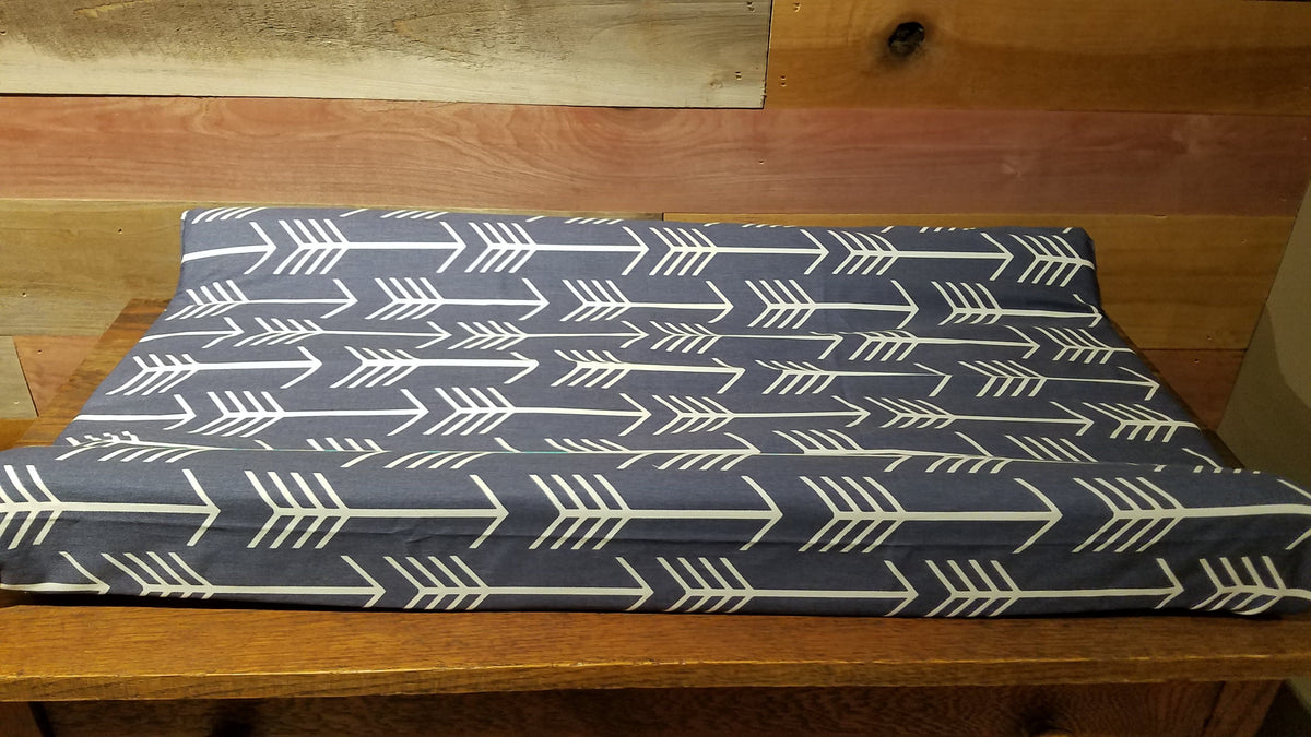 Changing Pad Cover - Navy Arrow