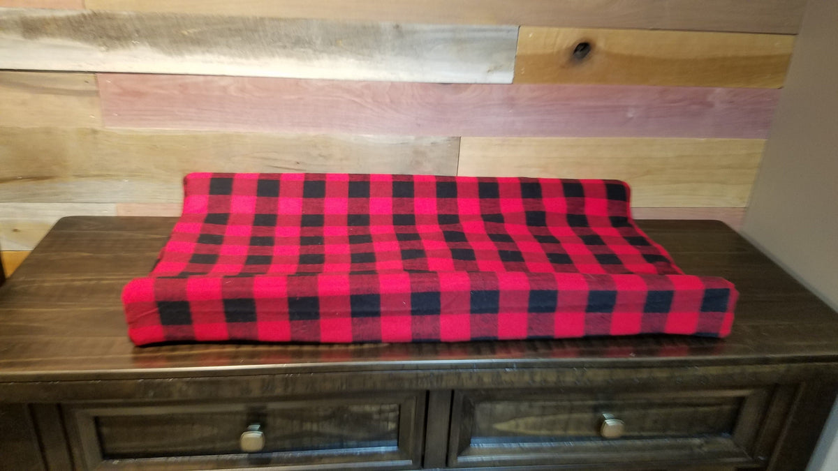 2 Day Ship Boy Crib Bedding - Arrow, Aztec, Fawn, Red Black Check, Woodland Collection