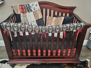 New Live Shopping Specials Boy Crib Bedding - Buck, Rustic Wood, Arrow Bedding Set