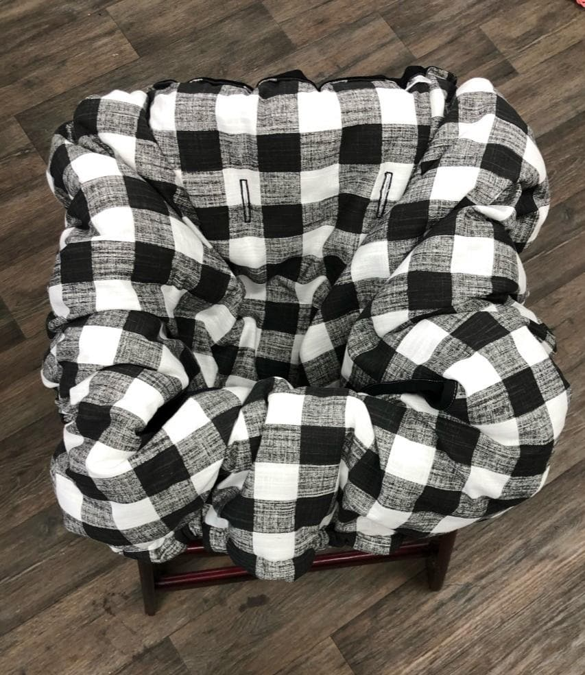 Cart Cover- Blue Check Highchair/Cart Cover
