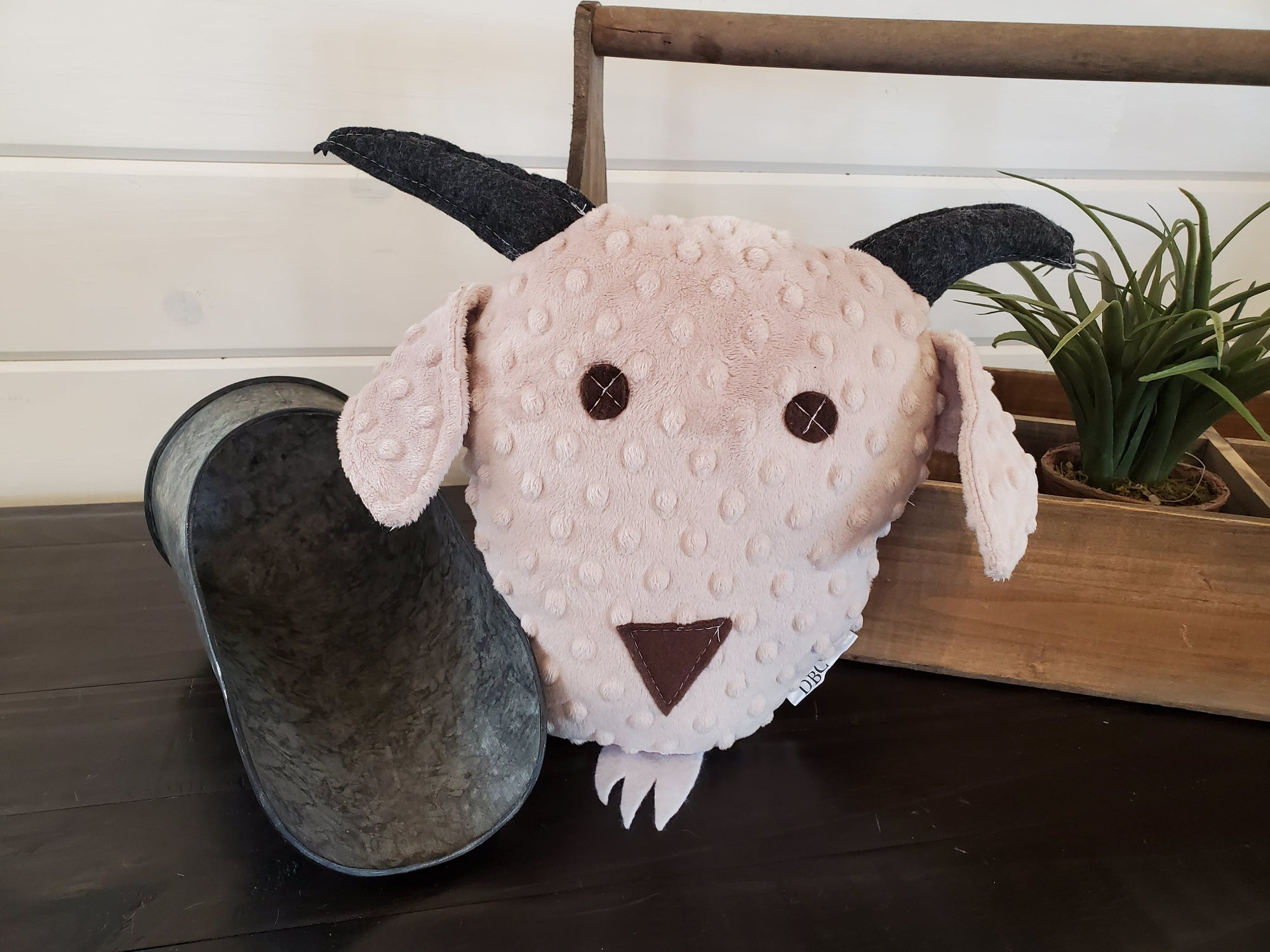 Decorative Pillow - Baa the Goat Minky Pillow