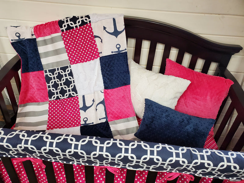 Live Specials Girl Crib Bedding- Nautical Collection *20% off*