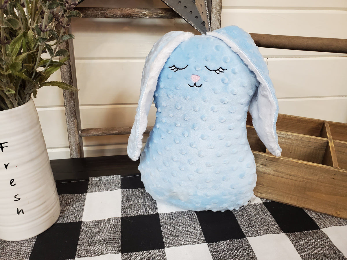 Decorative Pillow - Bunny Minky pillow