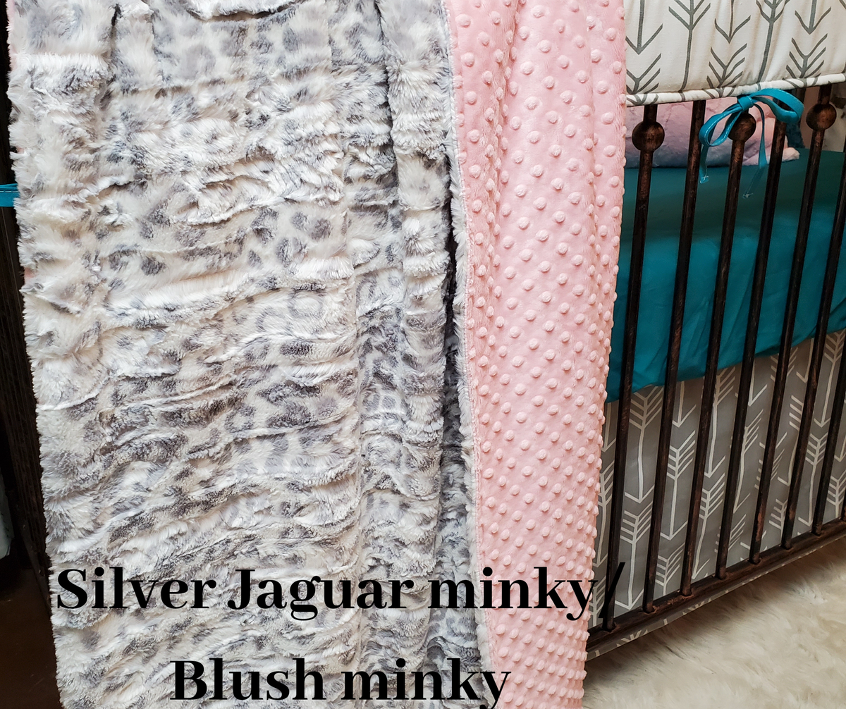 Happy Hour- 32x42 blanket, minky both sides *Use Code $20off
