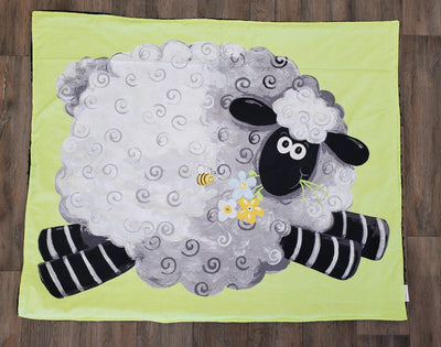 Happy Hour Blanket - Farm, Sheep, or Giraffe Blankets *use code $20off