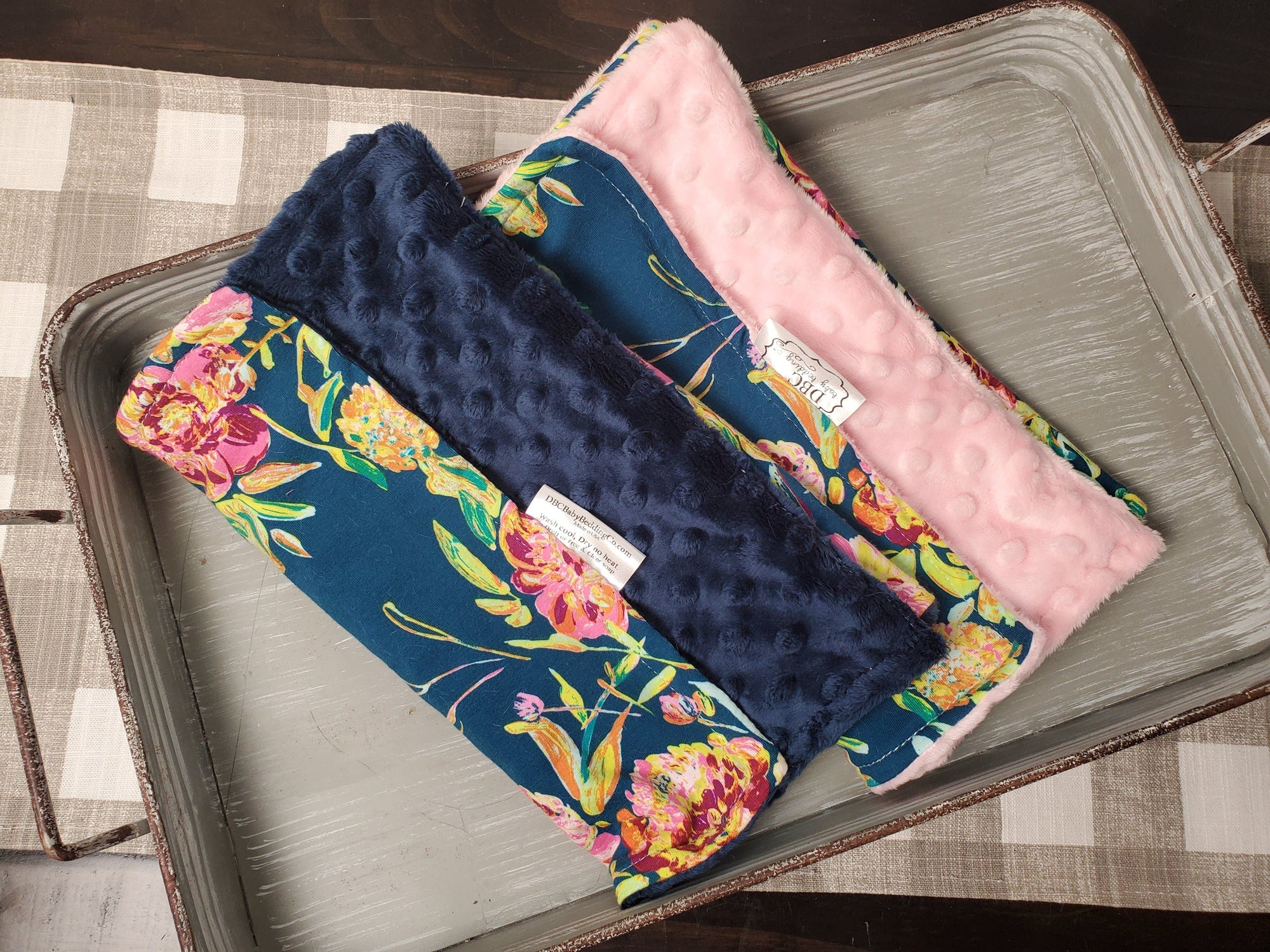 Burp Cloth Set - Prima Floral