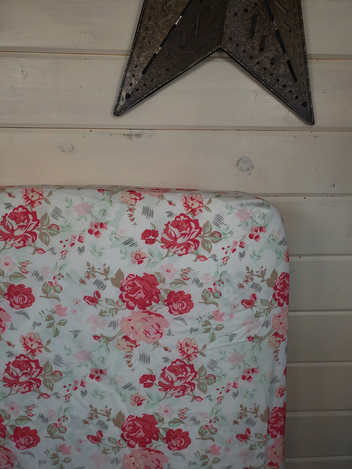 Fitted Sheet - Floral in Romantic Roses : All Bed Sizes