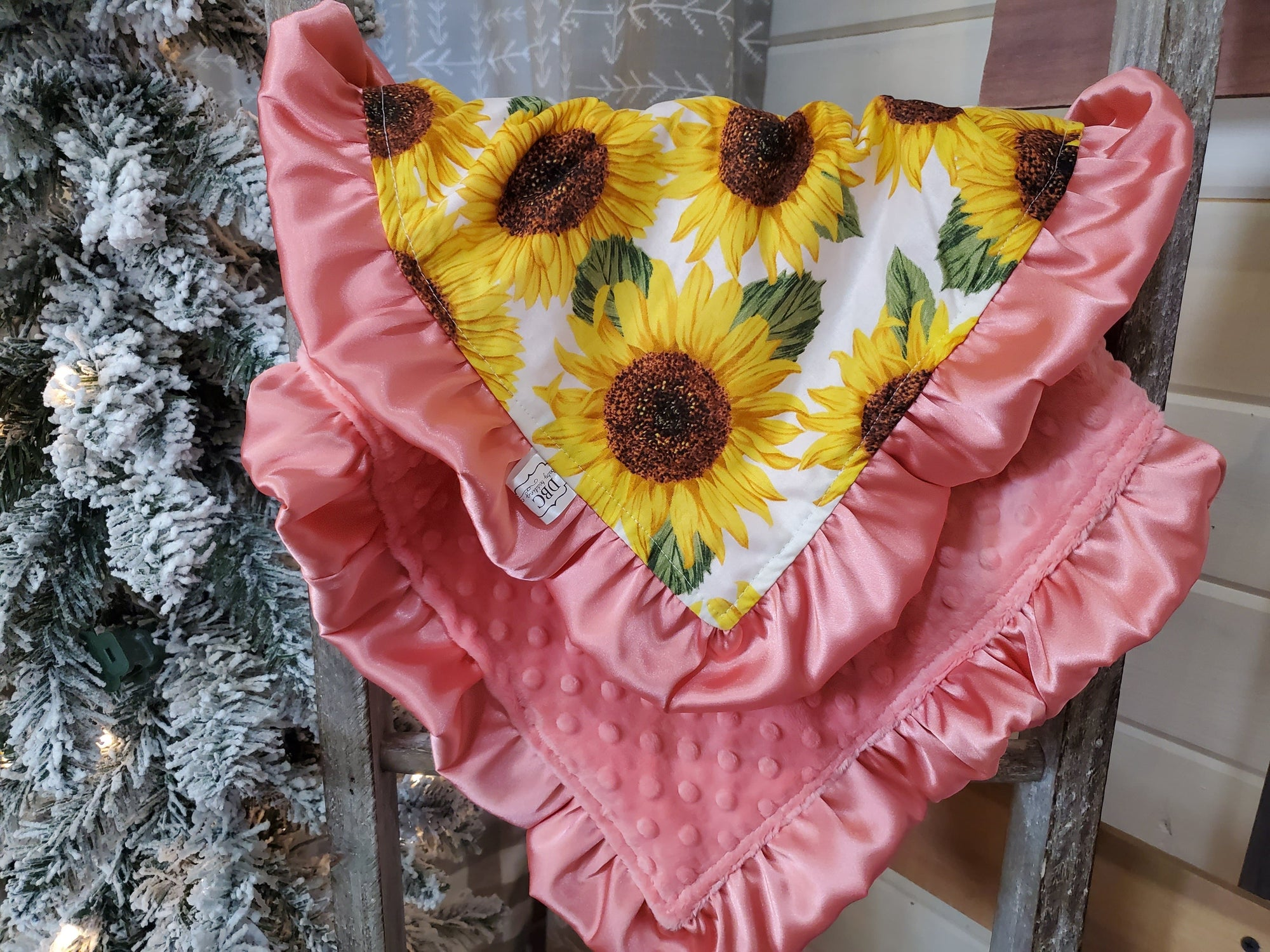LIVE Special Baby Ruffle lovey - Sunflower