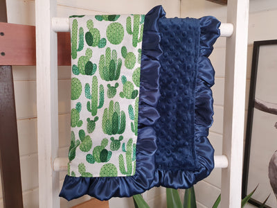LIVE Specials Baby Ruffle Lovey - Cactus