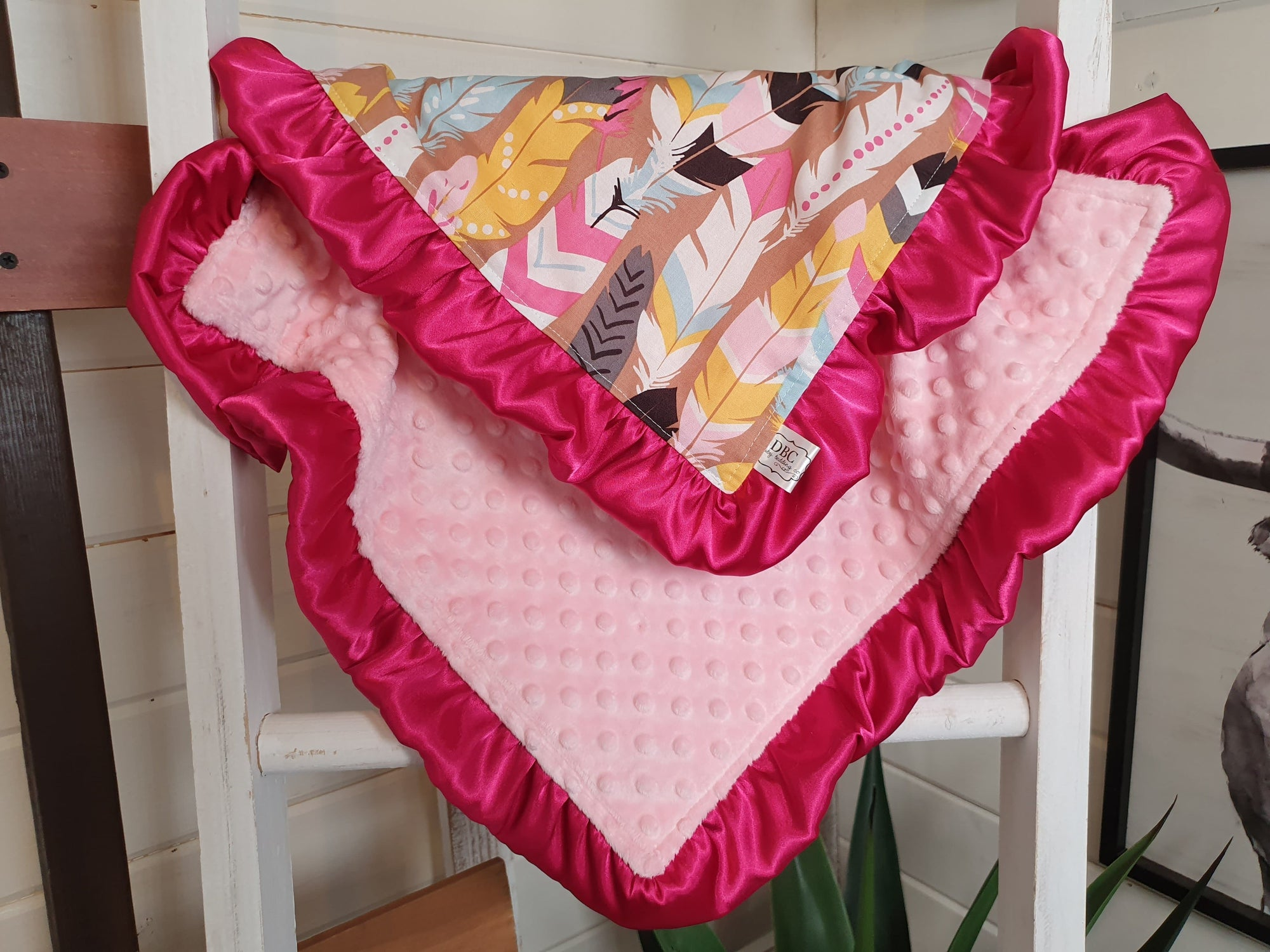 LIVE Specials Baby Ruffle Lovey - Feathers