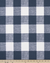 Bumper - Denim Navy Check with white ties
