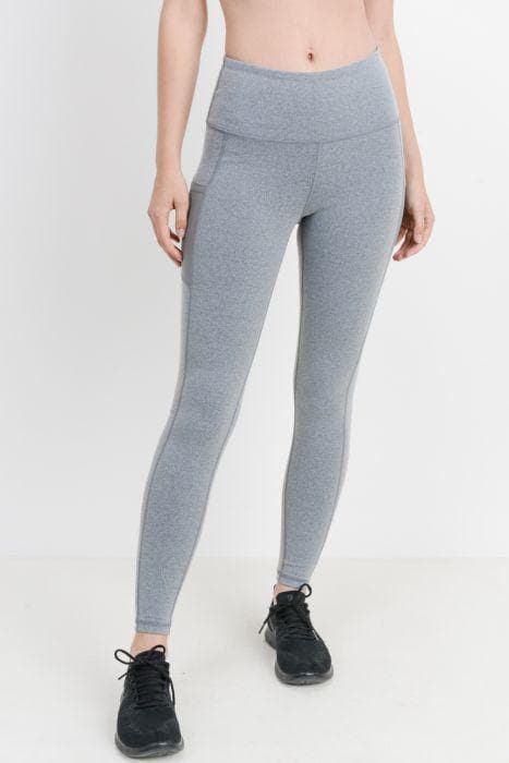 Full Leggings - Bronze Collection Gray Space