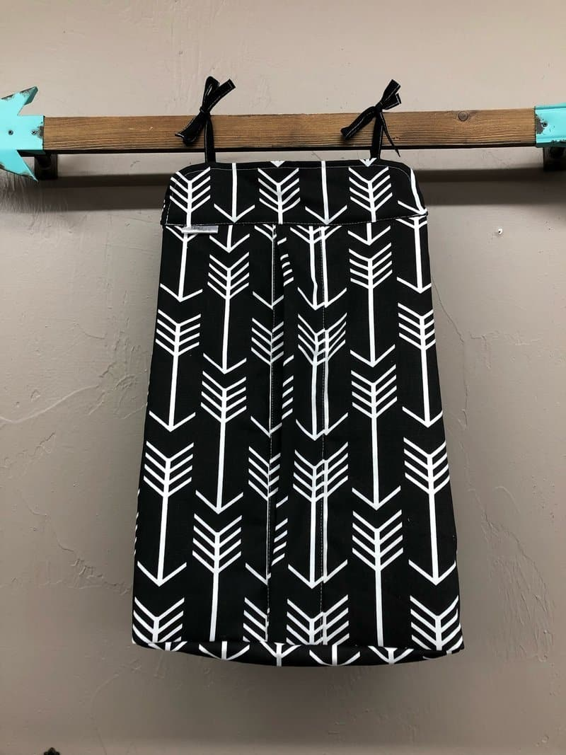 Diaper stacker - Black Arrow