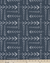 Curtain Panels or Valance - Tribal Arrow in Navy