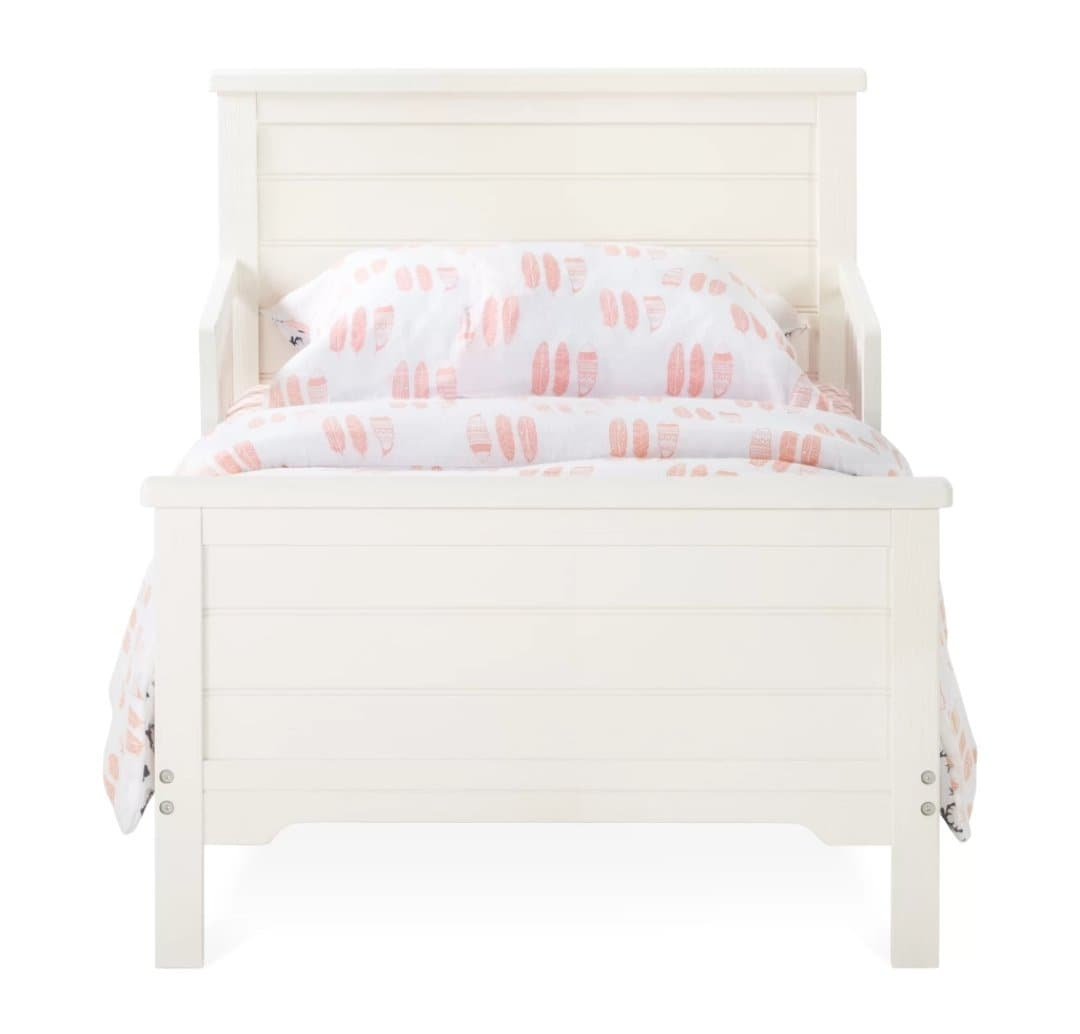 Toddler Bed - Approx Stock Date Sept 1st Farmhouse in Brushed White