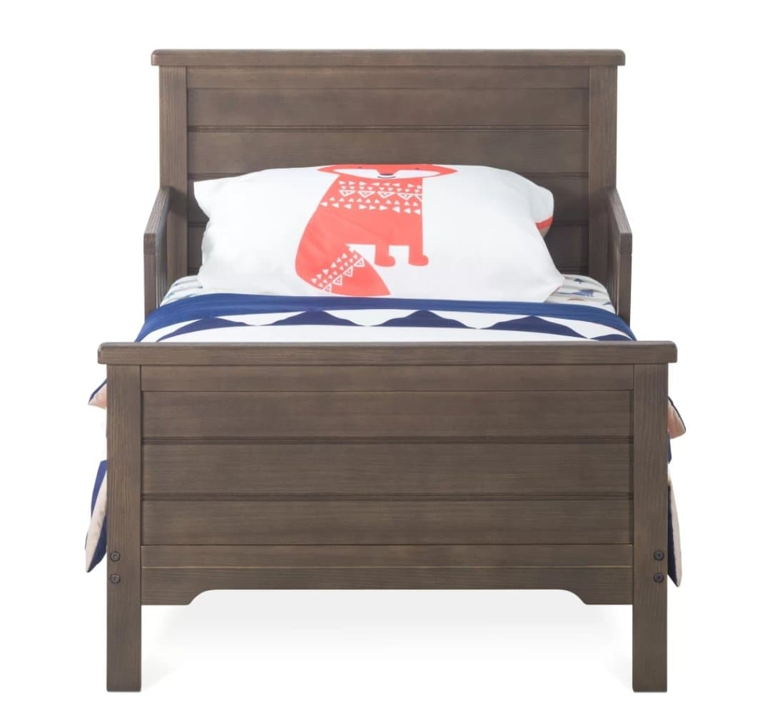 Toddler Bed - Approximate Stock Date Sept 1st * Farmhouse in Brushed Truffle