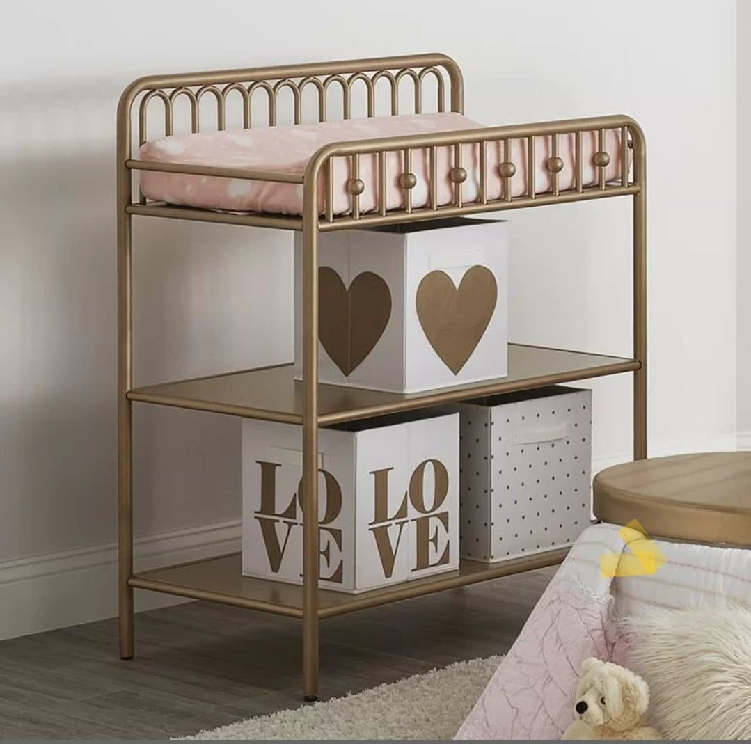 Changing Table - Gold Metal - approx. Stock date Jan 5th