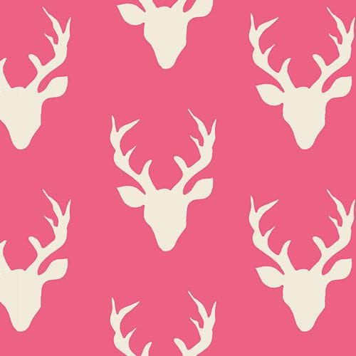 Bumper - Pink Buck with white ties