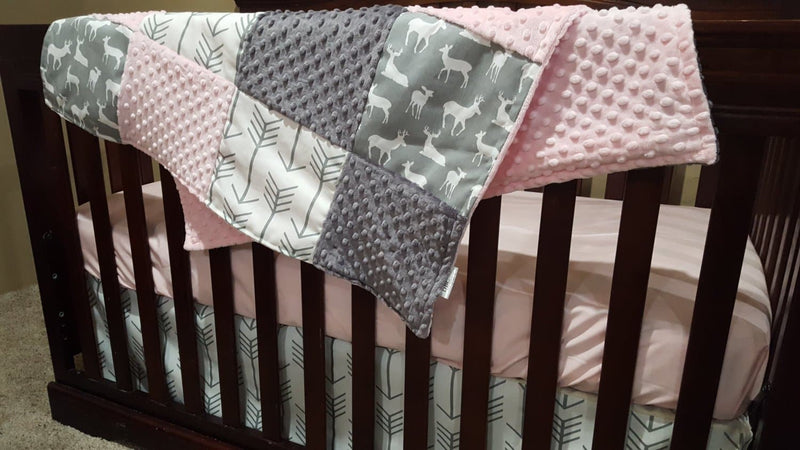 woodland crib bedding, Nursery Set
