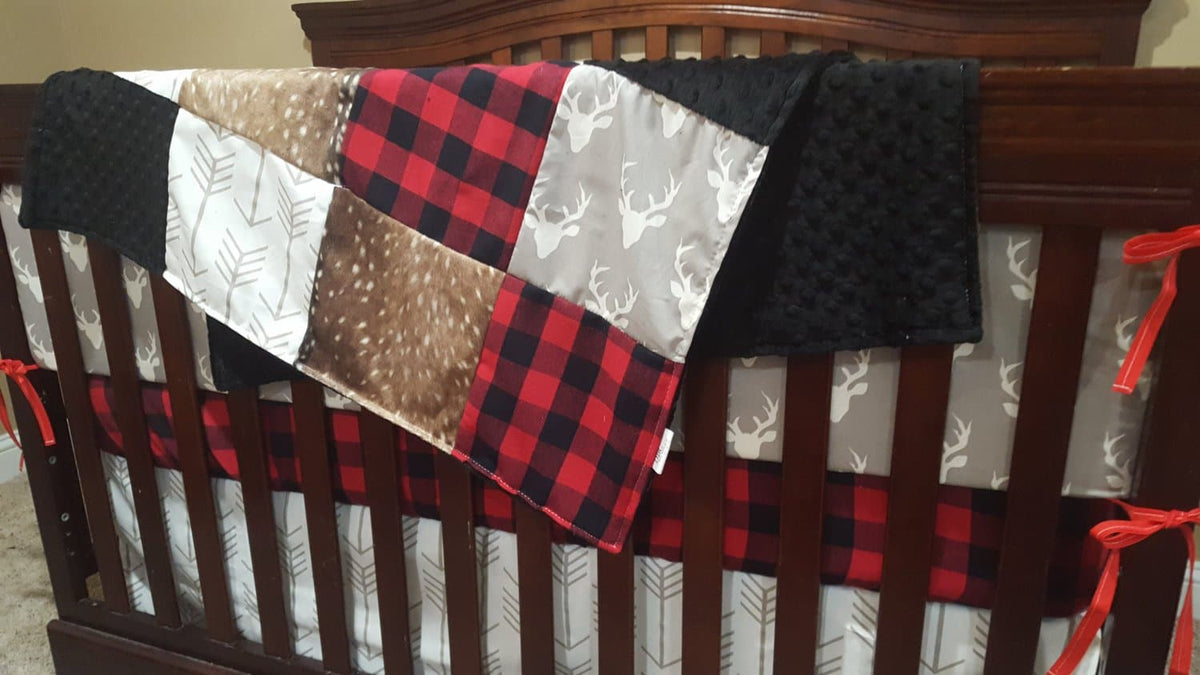 woodland crib bedding