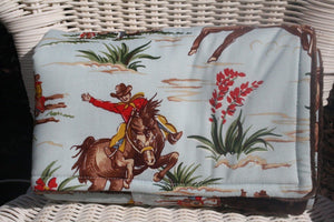 On the Go Changing Pad-Barn Dandy Cowboys