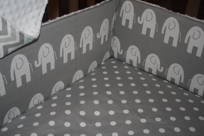 Bumper - Elephant in gray