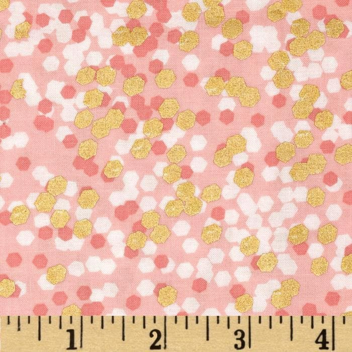 Nursing Pillow Cover - Brambleberry Peach Gold Shimmer Dot and Minky Boppy Cover - Gold, Coral, Sparkle, Metallic, Dot