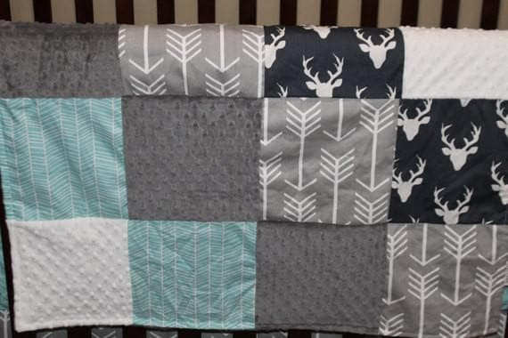 Patchwork Blanket - Buck and Arrow