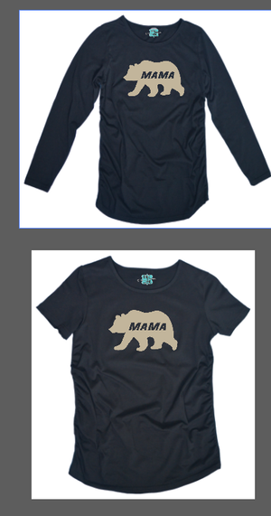 T Shirt : Mama Bear Maternity Shirt