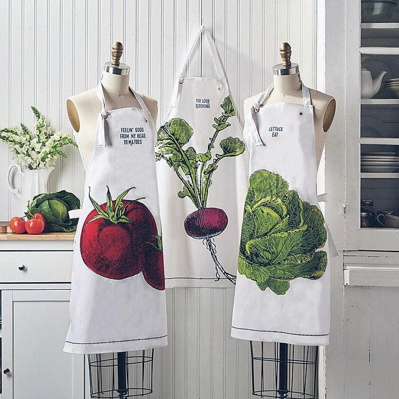 DBC Home Decor- Apron - Vegtable Aprons in Mason Jar